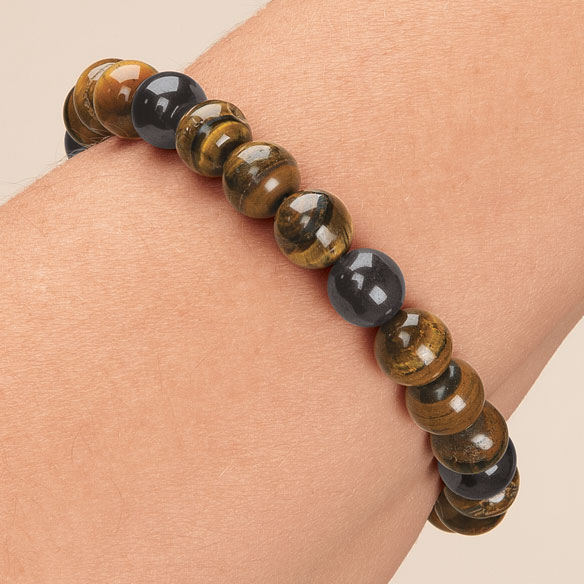 Lucky Magnetic Hematite Bracelets - View 4