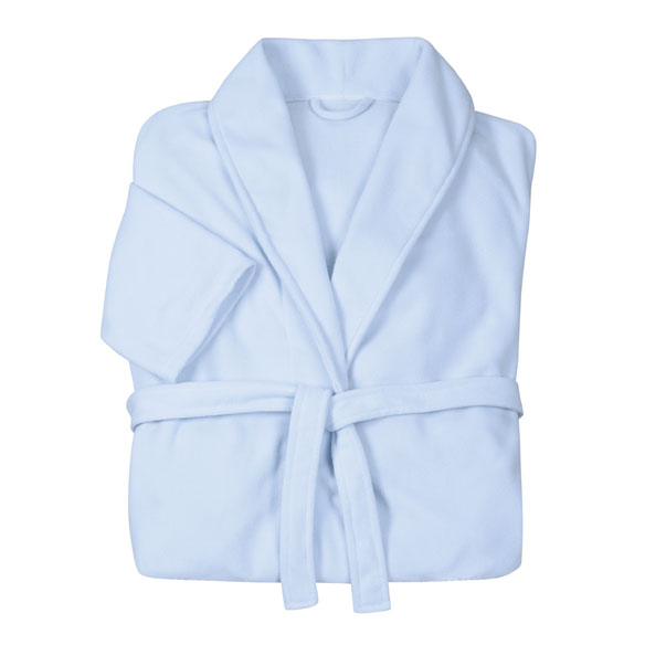 Lightweight Fleece Robe - View 1
