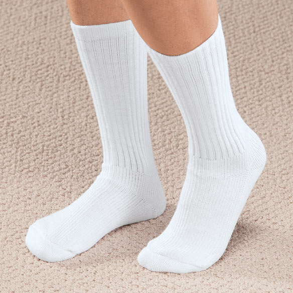 Graduated Compression Diabetic Crew Sock - View 2