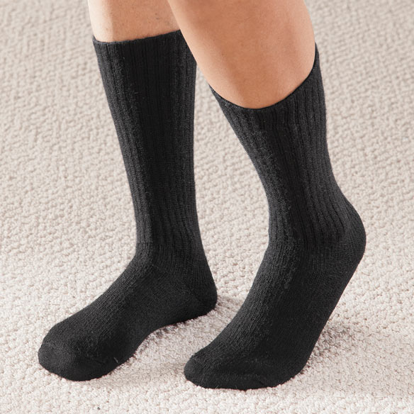 Graduated Compression Diabetic Crew Sock - View 4