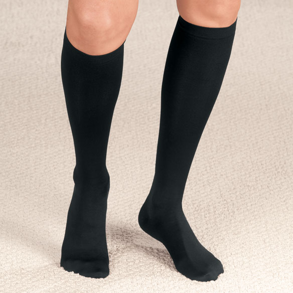 Compression Closed Toe Knee Highs, 20–30 mmHg - View 2