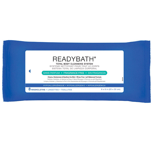 ReadyBath® Bathing Wipes - View 2