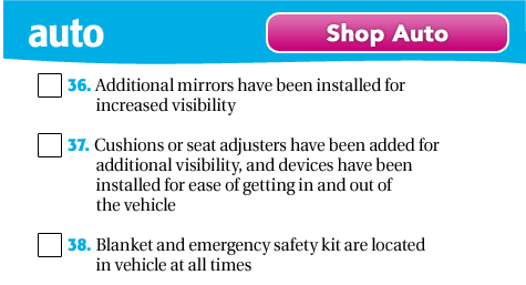Shop Auto & Travel Safety
