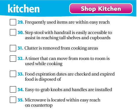 Shop Kitchen Safety