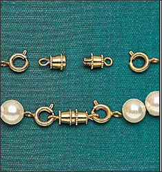 Necklace Screw Clasp