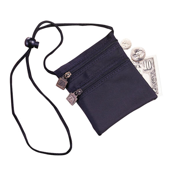 Neck Wallet-Black