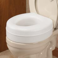 Toilet Aids - Raised Toilet Seat