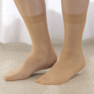 Nylon Footcovers S/6 Pair-Seamless