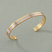 Apparel Accessories - Tricolor Copper Magnetic Bracelet