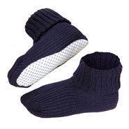 Comfort Footwear - Non Skid Slipper Socks