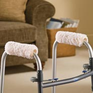 Walking Aids - Fleece Walker Hand Grips - Set Of 2
