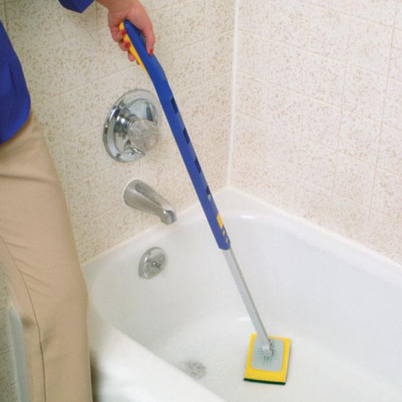 Telescopic Bathtub Scrubber Shower Scrubber Easy Comforts