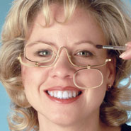 Reading Aids - Magnifying Makeup Glasses