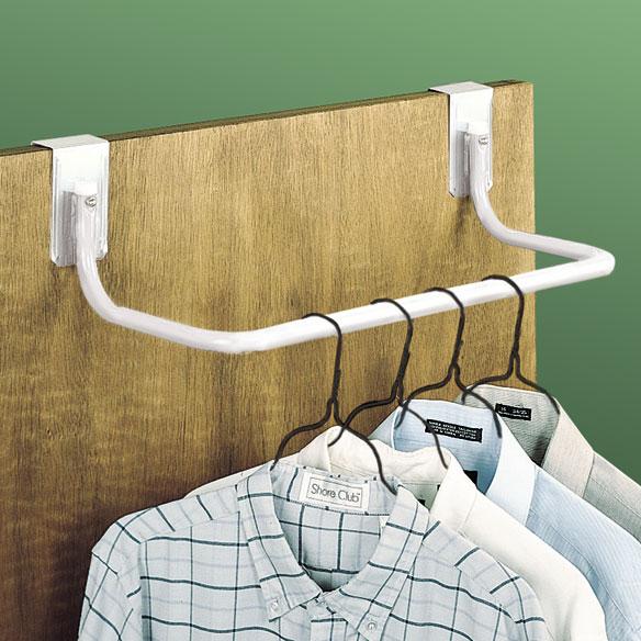 Over The Door Closet Rod Hanging Closet Rod Easy Comforts