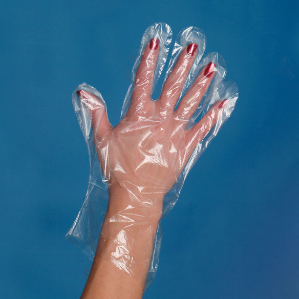 Plastic Gloves - Set Of 100