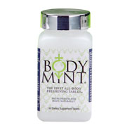Dietary Supplements - Body Mint® Body Odor Pill - 60 Tablets