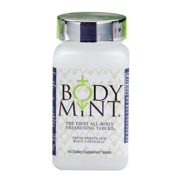 Body Mint® Body Odor Pill - 60 Tablets