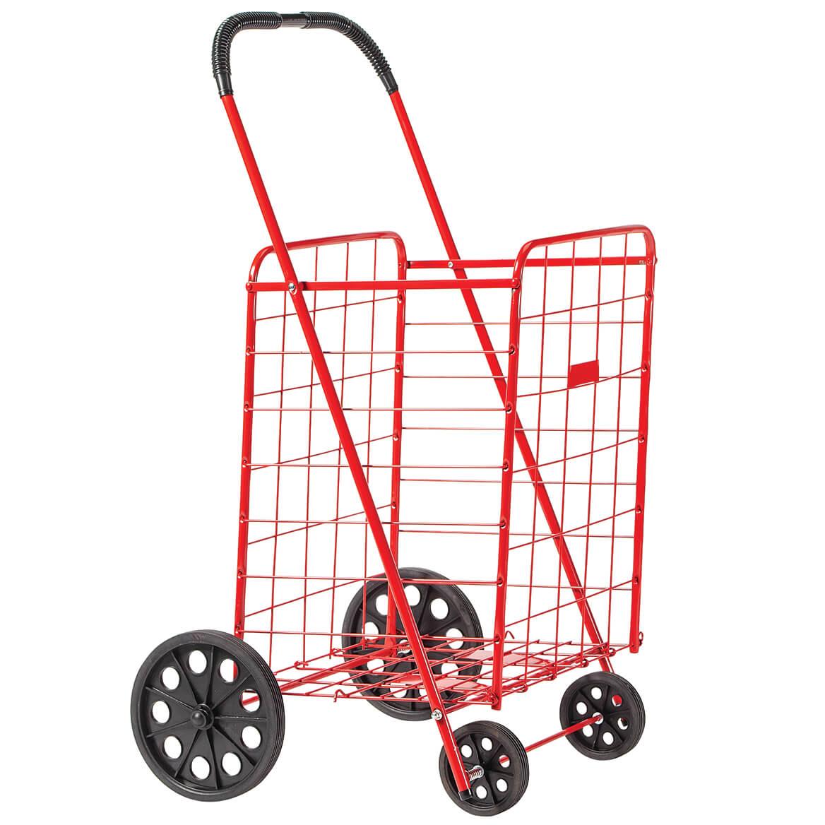 Deluxe Steel Shopping Cart-303496