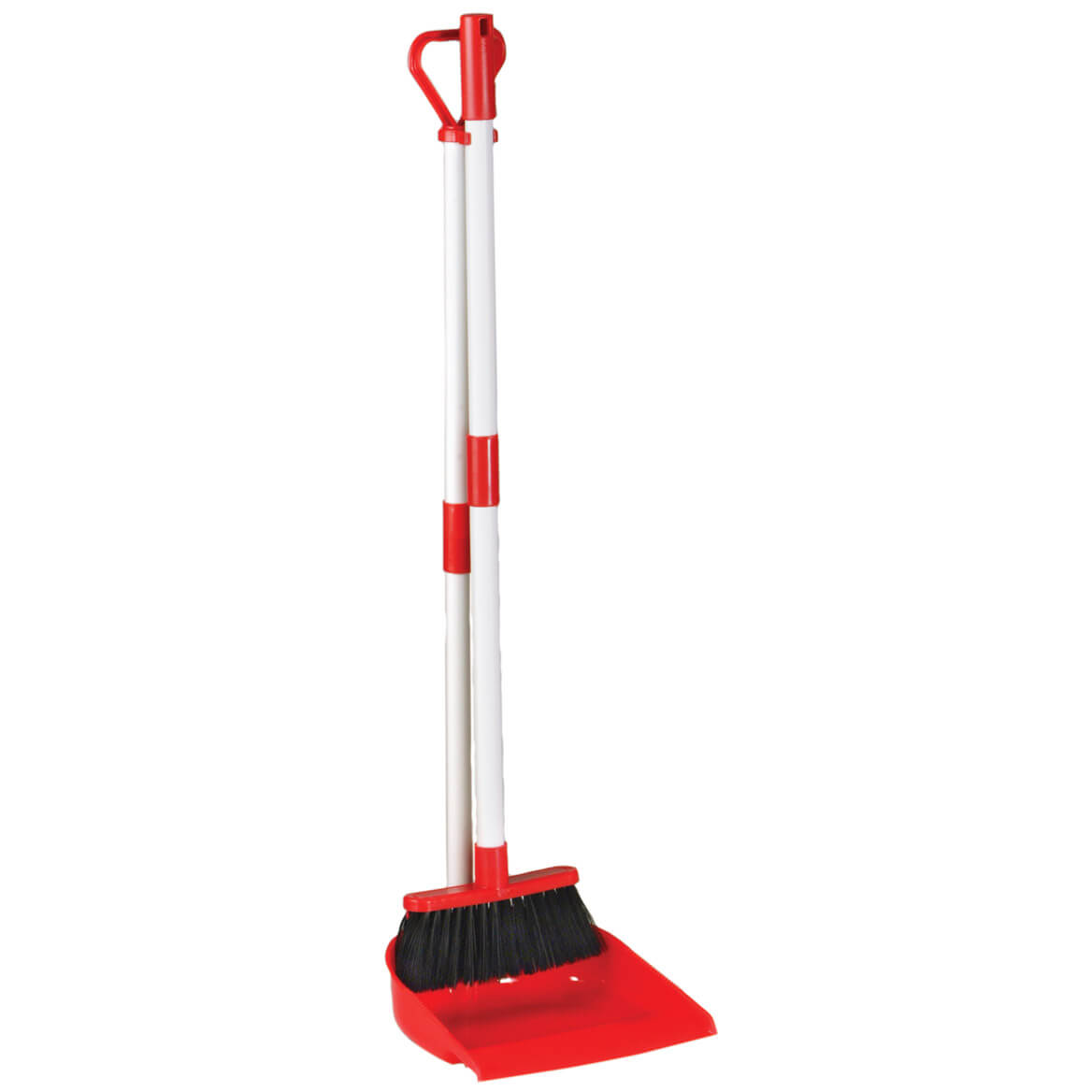 Long Handled Dust Pan With Broom-303515