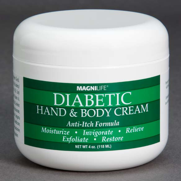 MagniLife® Diabetic Hand & Body Cream - 4 Oz.