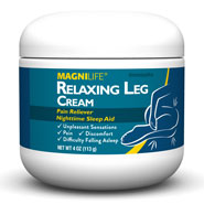 Pain Remedies - MagniLife® Restless Leg Cream - 4 Oz.