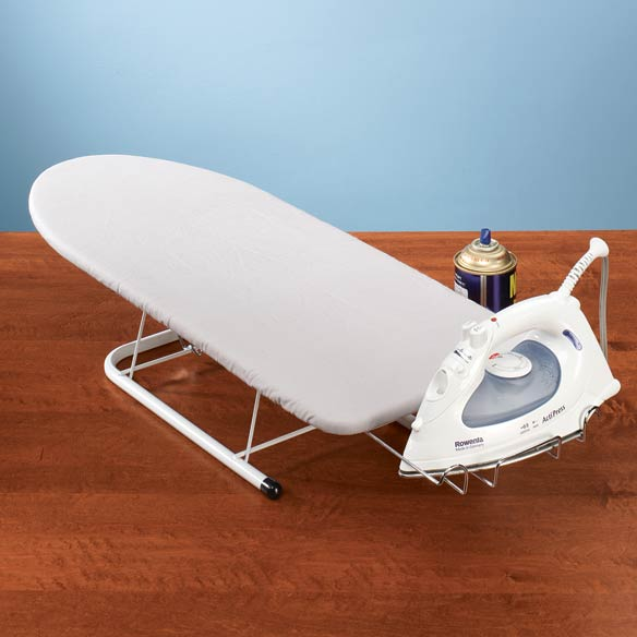 table top ironing board compact ironing board easy. Black Bedroom Furniture Sets. Home Design Ideas