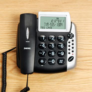 Hearing Loss - Talking Caller ID Corded Phone