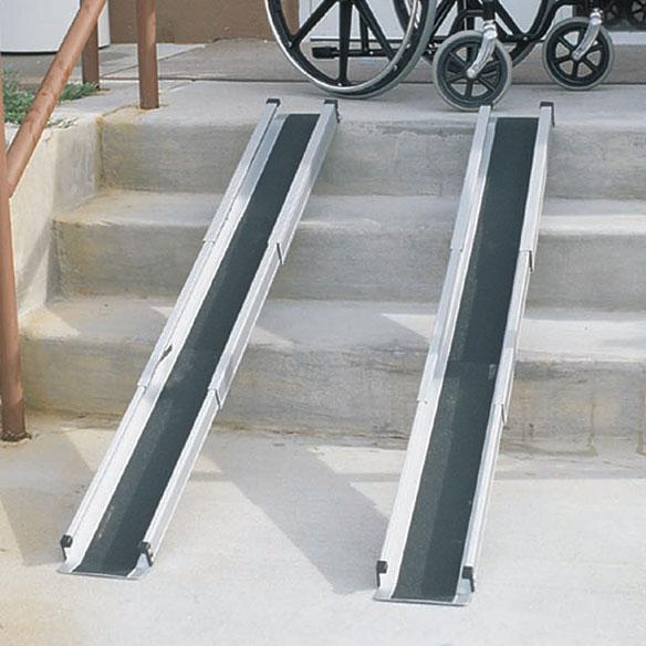 Telescoping Wheelchair Ramp Home Wheelchair Ramps Easy