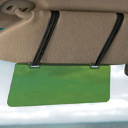 Auto & Travel - Visor Extender with Straps