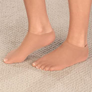 Footwear - Cotton Liner Socks With Spandex - 3 Pair