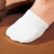 Comfort Footwear - Toe Half Socks