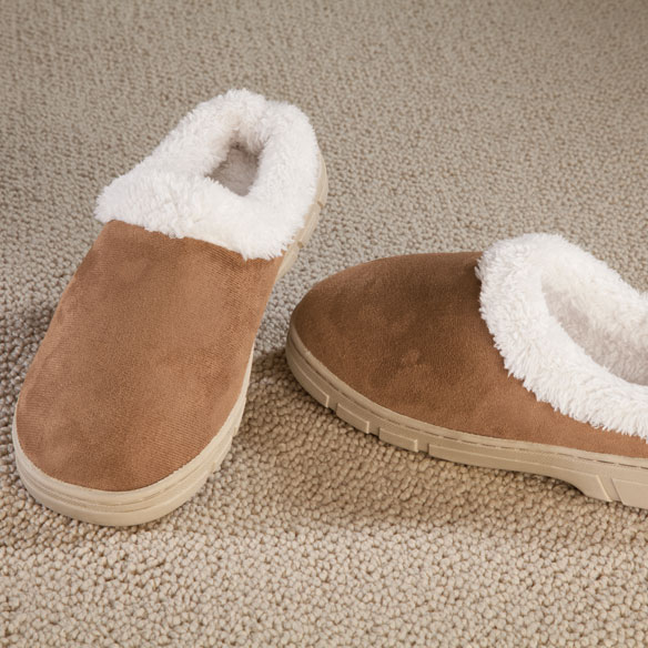 Womens Suede Slippers