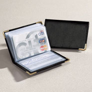 Apparel Accessories - Personalized Leather Credit Card Holder