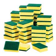 Home Necessities - Heavy Duty Scrub Sponge Set - 50 Count