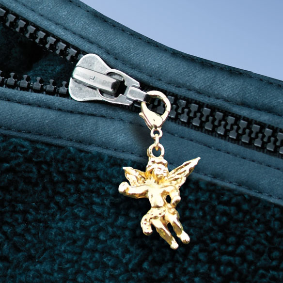 Guardian Angel Zipper Pull
