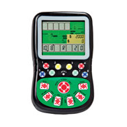 Hobbies & Books - Texas Hold-Em Handheld Game