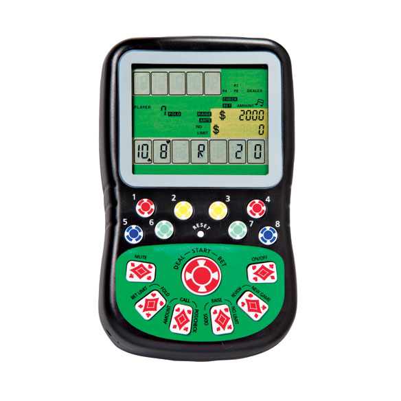 Texas Hold-Em Handheld Game