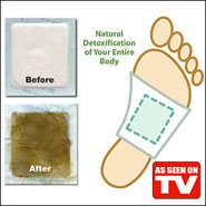 Detox Foot Pads Set of 10