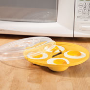 Cooking Alone - Microwave Egg Poacher