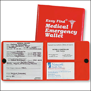 Medical Emergency Wallet