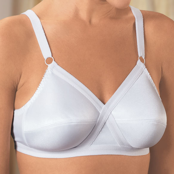 Cross And Shape Support Bra