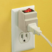 Home Necessities - Outlet Adapter With Switch