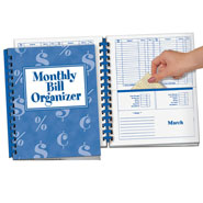 Hobbies & Books - Monthly Bill Organizer