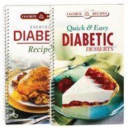 Diabetic Cookbooks Set of Both