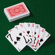 Office & Leisure - Large Print Playing Cards - Set Of 3