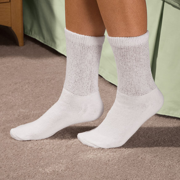 Comfy Feet™ 3 Pack Diabetic Socks