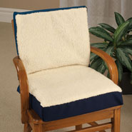 Cushions & Chair Pads - Sheepskin Seat Cushion