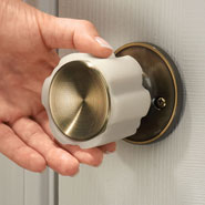 Values under $4.99 - Rubber Door Knob Covers