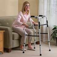 Walking Aids - Sit To Stand Lightweight Folding Walker