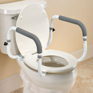 Toilet Safety Rail at Easy Comforts on handrails for bathroom, doors for bathroom, signs for bathroom, wheelchairs for bathroom, safety rails home, grab bars for bathroom, carts for bathroom, shelving for bathroom, toilets for bathroom, windows for bathroom, mobility aids for bathroom, lighting for bathroom, hardware for bathroom, towel bars for bathroom, flooring for bathroom, commodes for bathroom, ladder for bathroom, standing shelves for bathroom, furniture for bathroom, mirrors for bathroom,